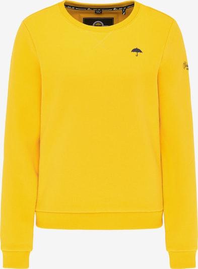 Schmuddelwedda Sweatshirt in nachtblau / gelb, Produktansicht