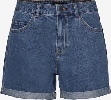 Vero Moda Curve Shorts 'Nineteen' in Blue