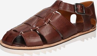 MELVIN & HAMILTON Sandales en brun foncé, Vue avec produit