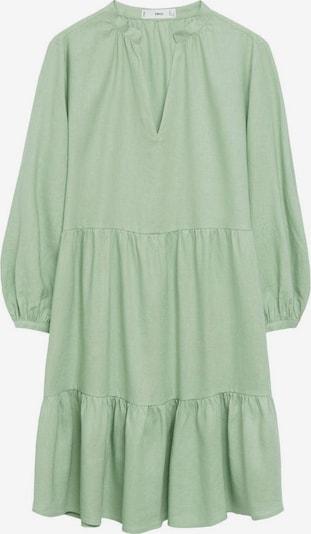 MANGO Košeľové šaty 'Jane' - pastelovo zelená, Produkt