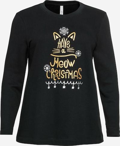 SHEEGO Sweatshirt in schwarz, Produktansicht