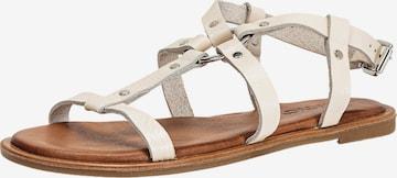 INUOVO Sandale in Beige