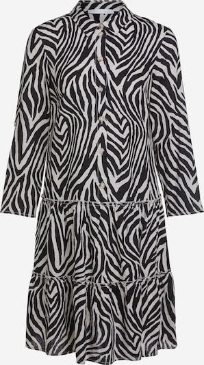 OUI Blusenkleid in schwarz / weiß, Produktansicht