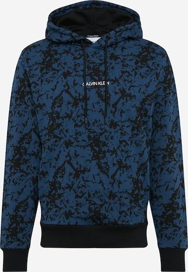 Calvin Klein Sweatshirt in blau / schwarz, Produktansicht