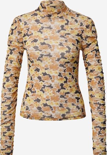 Fashion Union Shirt 'STEM' in beige / hellbraun / dunkelbraun / gelb, Produktansicht
