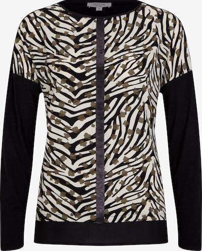 Ci comma casual identity Jerseyshirt mit Crêpe-Front in khaki, Produktansicht