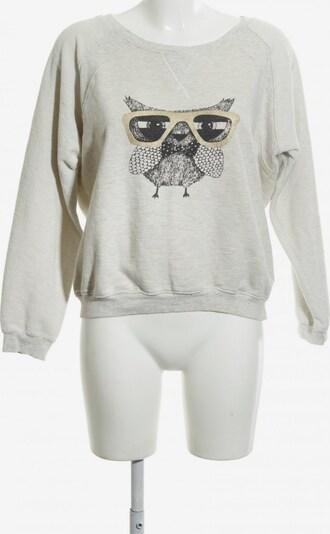 Yumi Sweatshirt in XL in gold / hellgrau / schwarz, Produktansicht
