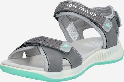 TOM TAILOR Sandalias de trekking en beige / piedra / menta, Vista del producto