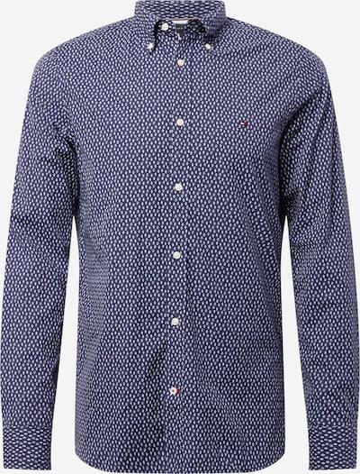 TOMMY HILFIGER Hemd in dunkelblau / weiß, Produktansicht