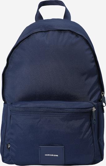 Calvin Klein Jeans Sac à dos en bleu foncé, Vue avec produit