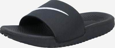 NIKE Strand-/badschoen in de kleur Zwart / Wit, Productweergave