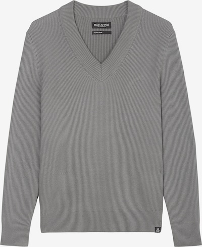 Marc O'Polo V-Neck-Pullover ' aus softem Bio-Baumwolle-Wolle-Mix ' in grau / dunkelgrau, Produktansicht