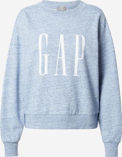 GAP Sweatshirt in blaumeliert / weiß, Produktansicht