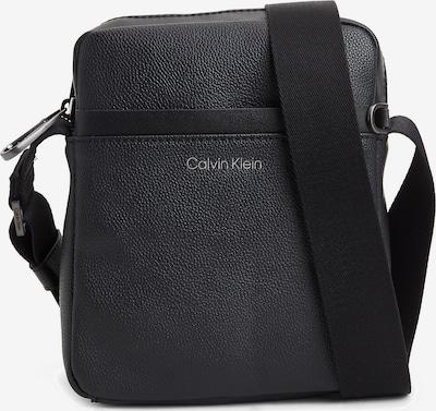 Calvin Klein Sac à bandoulière en gris / noir, Vue avec produit