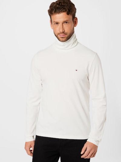 TOMMY HILFIGER Тениска в бежово / нейви синьо / червено / бяло: Изглед отпред