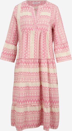 Flowers for Friends Kleid in pink / wollweiß, Produktansicht