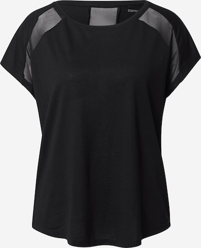 ESPRIT SPORT Sportshirt in schwarz, Produktansicht