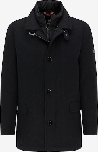 PIERRE CARDIN Manteau d'hiver en gris foncé, Vue avec produit