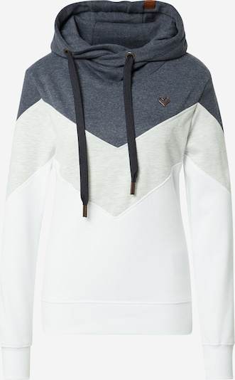 Alife and Kickin Sweatshirt 'Stella' in marine / braun / hellgrau / weiß, Produktansicht