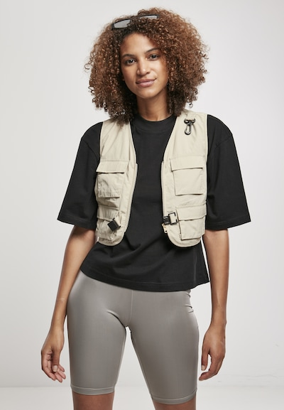 Urban Classics Vest in Beige, View model
