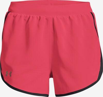 UNDER ARMOUR Pantalon de sport 'Fly By' en gris / rose / noir, Vue avec produit