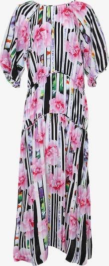 Madam-T Maxikleid 'GRETELE' in pink / schwarz / weiß, Produktansicht