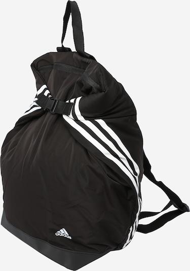 ADIDAS PERFORMANCE Sac à dos de sport 'Future Icons' en noir / blanc, Vue avec produit