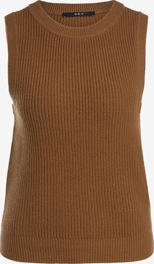 SET Pullover in dunkelbeige, Produktansicht