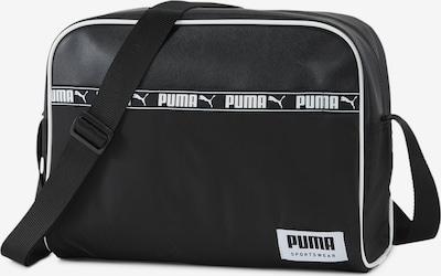 PUMA Schultertasche in schwarz / weiß, Produktansicht