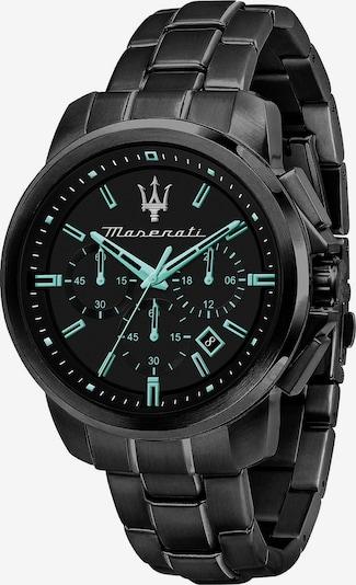Maserati Analoog horloge in de kleur Zwart, Productweergave