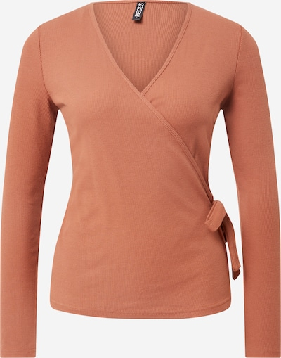 PIECES Pullover in rostrot, Produktansicht