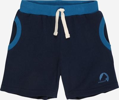FINKID Pantalon 'ANKKA' en bleu marine / bleu ciel, Vue avec produit