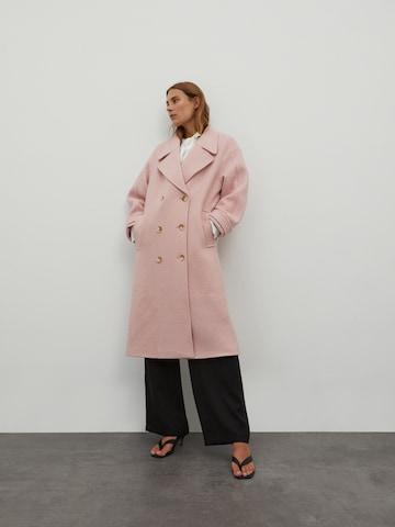 Cappotto di mezza stagione 'Bieke' di EDITED in rosa