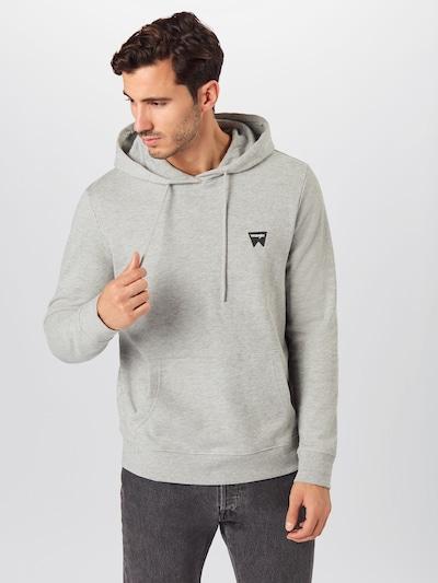 WRANGLER Sweatshirt in de kleur Grijs: Vooraanzicht