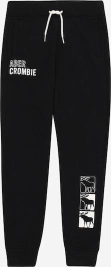 Abercrombie & Fitch Hose in schwarz / weiß, Produktansicht