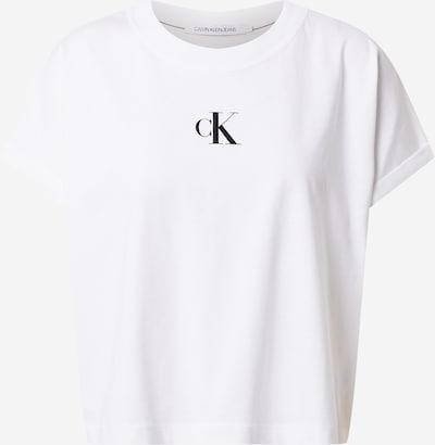 Calvin Klein Jeans T-Shirt in orange / schwarz / weiß, Produktansicht
