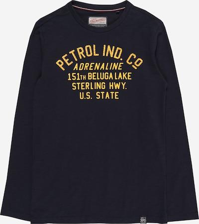 Petrol Industries Shirt in nachtblau / gelb, Produktansicht