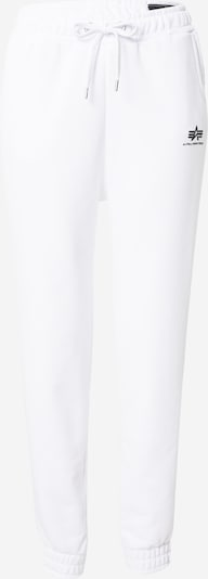 ALPHA INDUSTRIES Jogginghose in weiß, Produktansicht