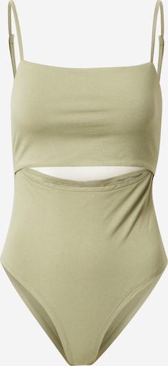 Tricou body NU-IN pe oliv, Vizualizare produs