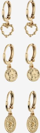 Six Oorbellen in de kleur Goud, Productweergave
