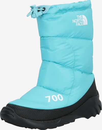 THE NORTH FACE Snowboots 'Nuptse Bootie 700' in blau / weiß, Produktansicht
