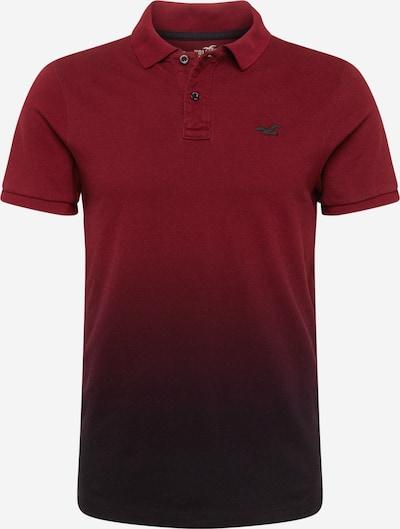 HOLLISTER T-shirt i burgunder / svart, Produktvy