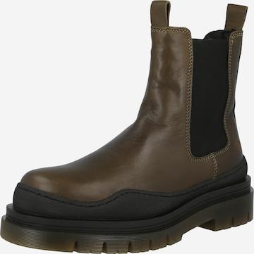 Chelsea Boots 'Cream 49' Apple of Eden en vert
