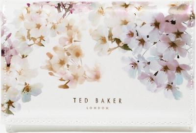 Ted Baker Geldbörse 'Jackiey' in elfenbein / mischfarben: Frontalansicht
