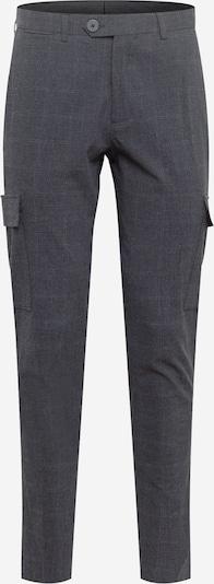 JACK & JONES Hose 'SEERSUCKER' in grau / graphit, Produktansicht