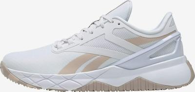 Reebok Sport Sportschuh 'Nanoflex TR' in beige / weiß, Produktansicht
