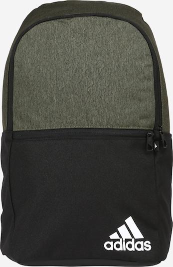ADIDAS PERFORMANCE Sportrucksack in oliv / schwarz / weiß, Produktansicht