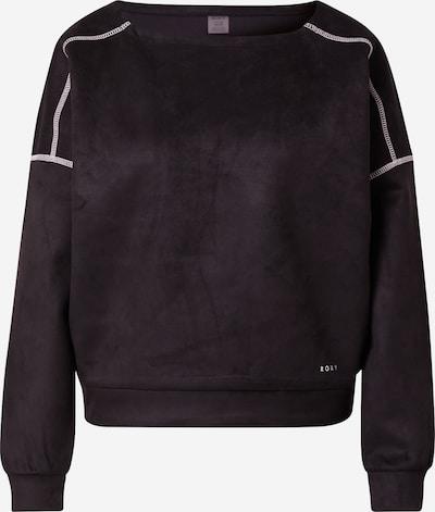 ROXY Αθλητική μπλούζα φούτερ 'PRISONEERS OF LOVE' σε ανθρακί / λευκό, Άποψη προϊόντος