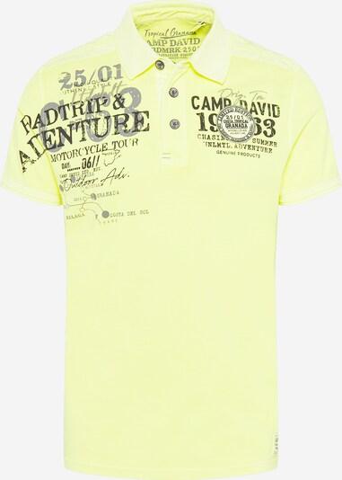 CAMP DAVID Paita värissä neonkeltainen / tummanharmaa / musta, Tuotenäkymä