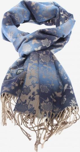 Esprit Collection Fransenschal in One Size in blau / wollweiß, Produktansicht